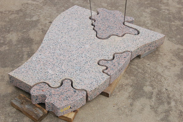 Granite sections